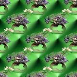 Ikebana Seamless Background Royalty Free Stock Photography