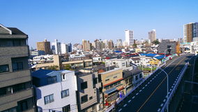 Ikebukuro City Scape. A night time shot of the Ikebukuro Tokyo Japan City from my old apartment balcony Stock Photography