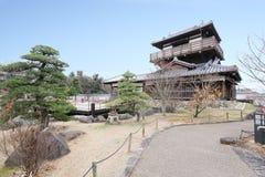 Ikeda shiroatokoen стоковые фото