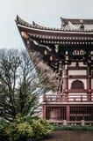 Ikegami Honmon-ji świątynia i stary historyczny Japoński budynku ver Obraz Royalty Free