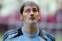 Iker Casillas Fotografie Stock