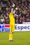 Iker Casillas av Real Madrid royaltyfria bilder