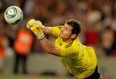 Iker Casillas of Real Madrid Stock Images