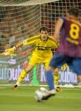 Iker Casillas von Real Madrid Stockfotografie