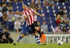 Iker Muniain of Bilbao Stock Images