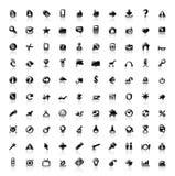 ikon 100 ikon Obraz Stock