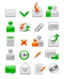 ikon biura sieć ilustracji