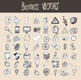 56 ikon biznes s Zdjęcia Stock