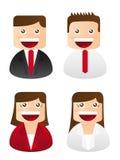 ikon biznesowi ludzie Zdjęcie Stock