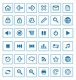 ikon internetów wektor royalty ilustracja