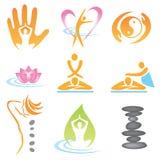 ikon masażu zdrój Zdjęcia Royalty Free