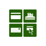ikon metod zapłaty sieć ilustracji