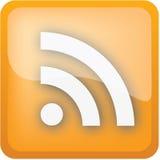 ikon rss Zdjęcie Stock