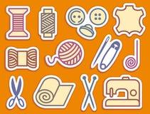 ikon uszycia target1404_0_ ilustracji