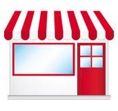 ikona śliczny sklep Obrazy Stock