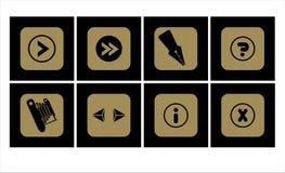 ikona 1 zestaw Ilustracja Wektor