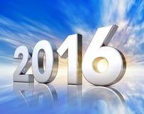 2016 ikona Fotografia Stock
