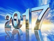 2017 ikona ilustracja wektor