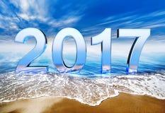 2017 ikona Zdjęcie Royalty Free