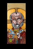ikona antykwarska wyznania Obraz Royalty Free