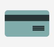 Ikona banka obrazkowa karta Fotografia Royalty Free