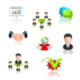 ikona biznesowy set ilustracji