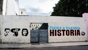 Ikona bohaterzy Ernesto Che Guevara, Cienfuegos Cas i Fidel, obraz royalty free