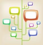 Ikona dla forum Obrazy Stock