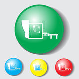 Ikona dla miejsca Obraz Royalty Free