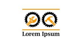 Ikona dla narzędzi i przemysłowego wyposażenia ilustracji