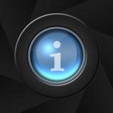 ikona internetu Zdjęcie Stock