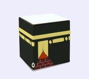 Ikona Islamski religijny symbol Kaaba wektor Obrazy Stock