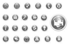 ikona jednostek gospodarczych ilustracji