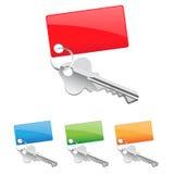 ikona klucz Zdjęcie Stock
