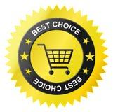 ikona koszykowy sklep Zdjęcie Stock