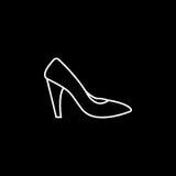 ikona kuje kobiety Zdjęcie Royalty Free