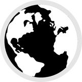 ikona kulę. royalty ilustracja