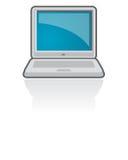 ikona laptopa notatnik wektora Obrazy Stock
