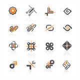ikona logo Obrazy Stock