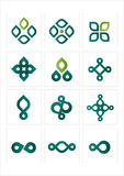 ikona logo Obrazy Royalty Free