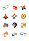 ikona logo Zdjęcia Royalty Free