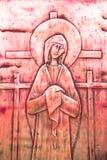 Ikona Mary fotografia stock