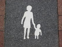 ikona (miejsce do parkowania) Obrazy Royalty Free