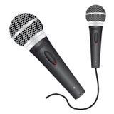 ikona mikrofon Fotografia Royalty Free