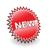 ikona nowa Obrazy Royalty Free