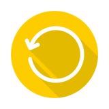 ikona odświeża Zdjęcia Stock