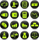 ikona pieniądze Fotografia Stock