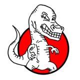 Ikona potwór Zdjęcie Stock