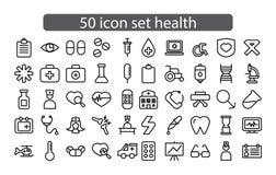 Ikona projekta ustalona medycyna i zdrowie wektor zdjęcie royalty free