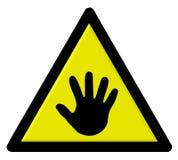 ikona ręce Zdjęcia Royalty Free